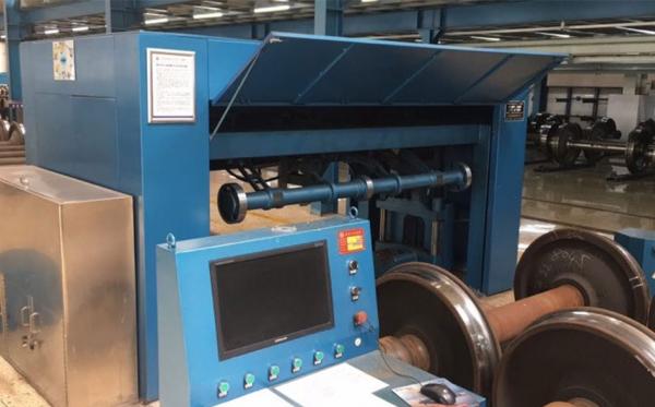 激光轮对自动检测机使用案例