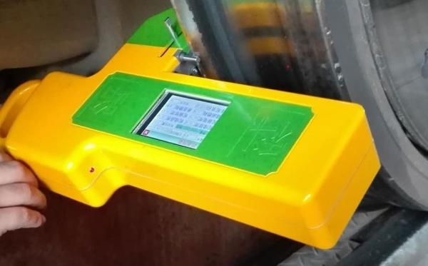 应用于城市地铁的车轮踏面参数智能检测仪使用案例