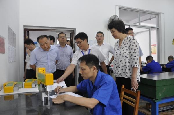 热烈欢迎! 清华大学党委书记莅临我公司调研指导工作