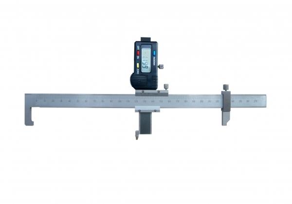 数显轨距尺如何测量查照间隔和距离