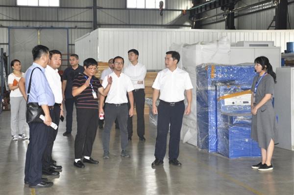 中国中小企业协会考察团一行来我公司调研