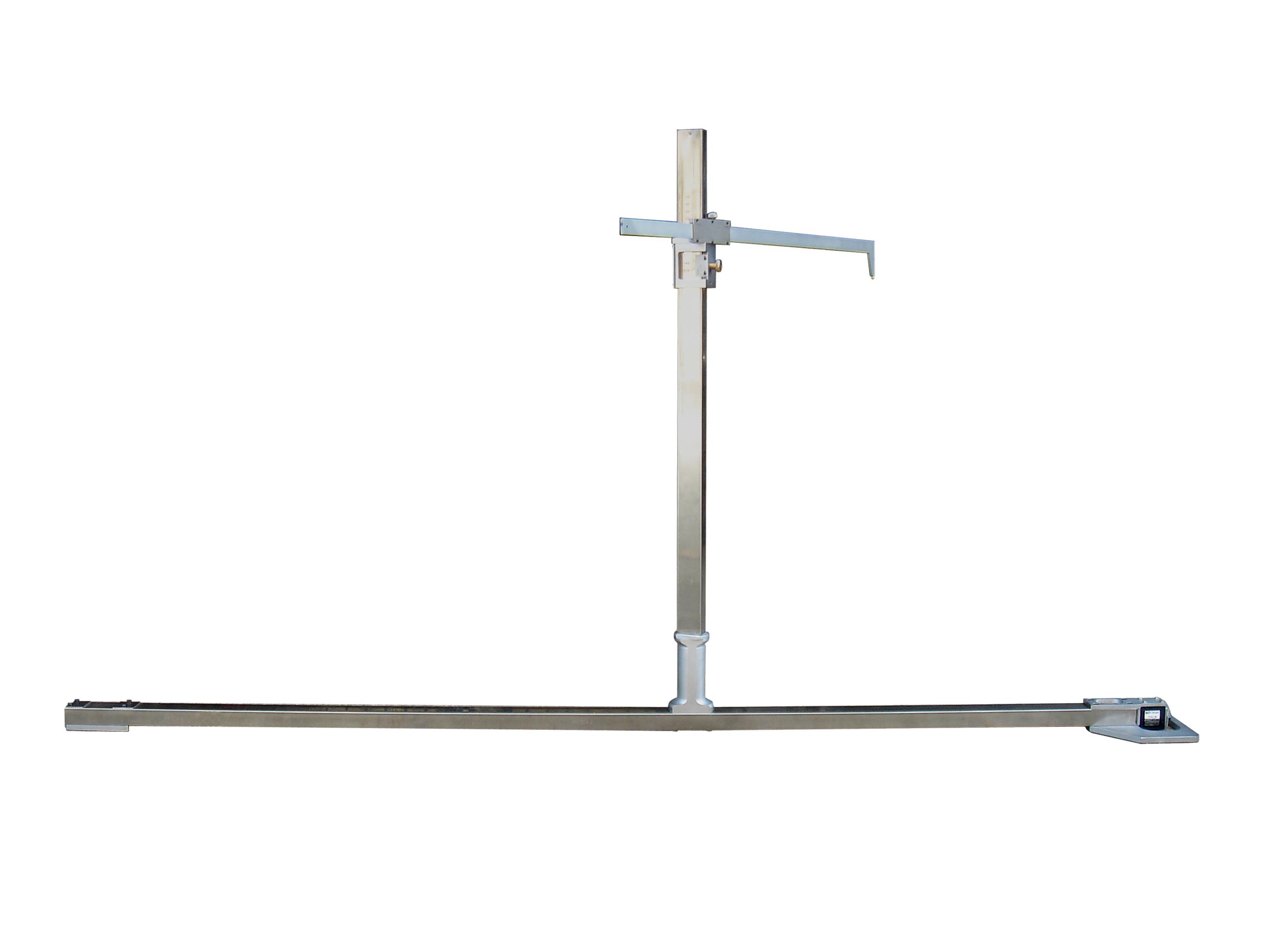 转向架心盘自由高度测量尺