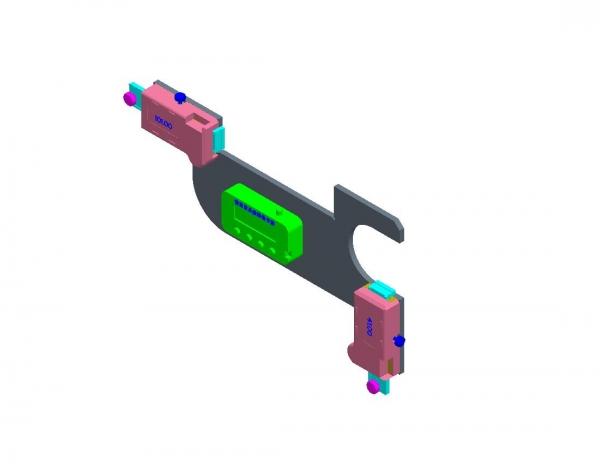 13号车钩钩尾销数显加修检测样板