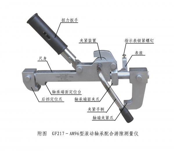 GF217-AM96型滚动轴承配合游隙测量仪