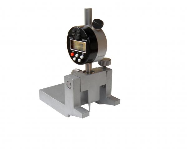 车轴卸荷槽或轴颈根部锈蚀深度测量仪(数显)