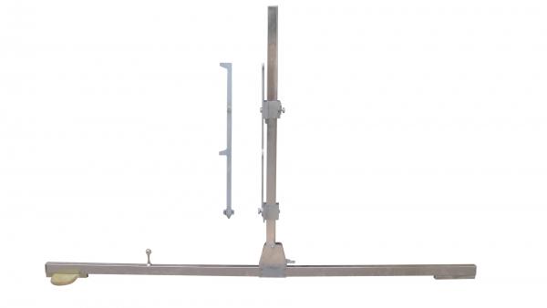 车钩中心高度上翘下垂测量尺