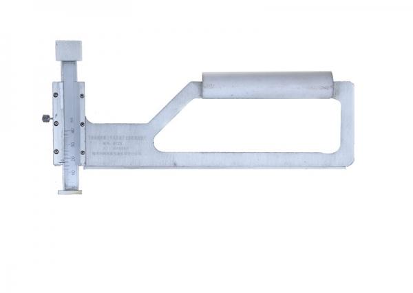 下旁承磨耗板上平面至滚子上部距离检测尺