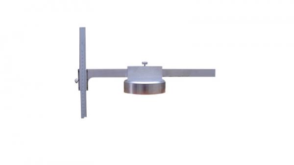 横跨梁触板与心盘上平面高度差测量尺