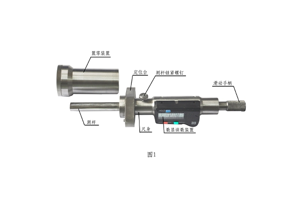 动车组速度传感器感应头安装间隙测量尺