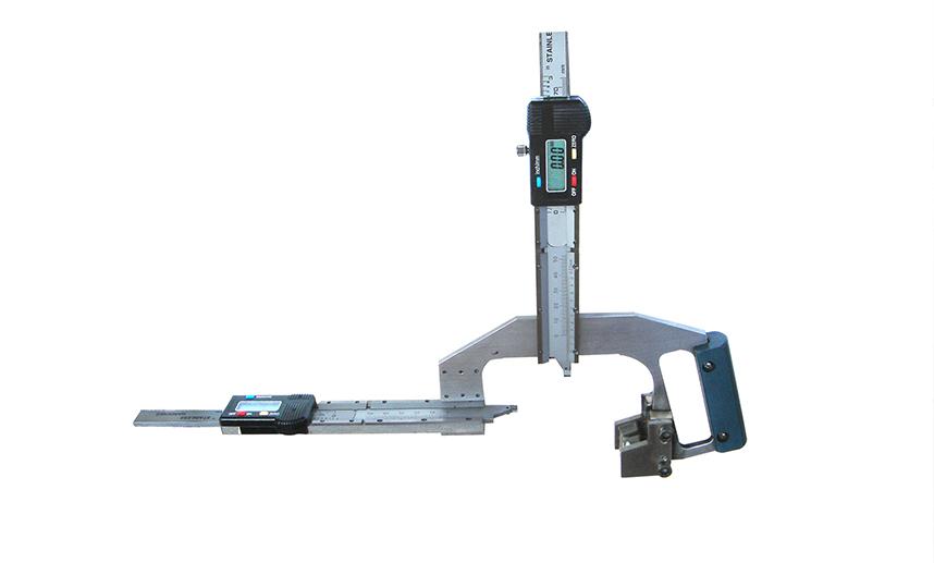 钢轨磨耗测量尺
